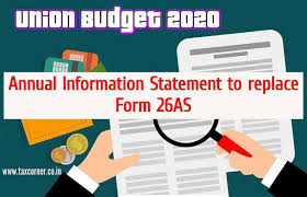 CBDT notifies new Form 26AS [Annual Information Statement]